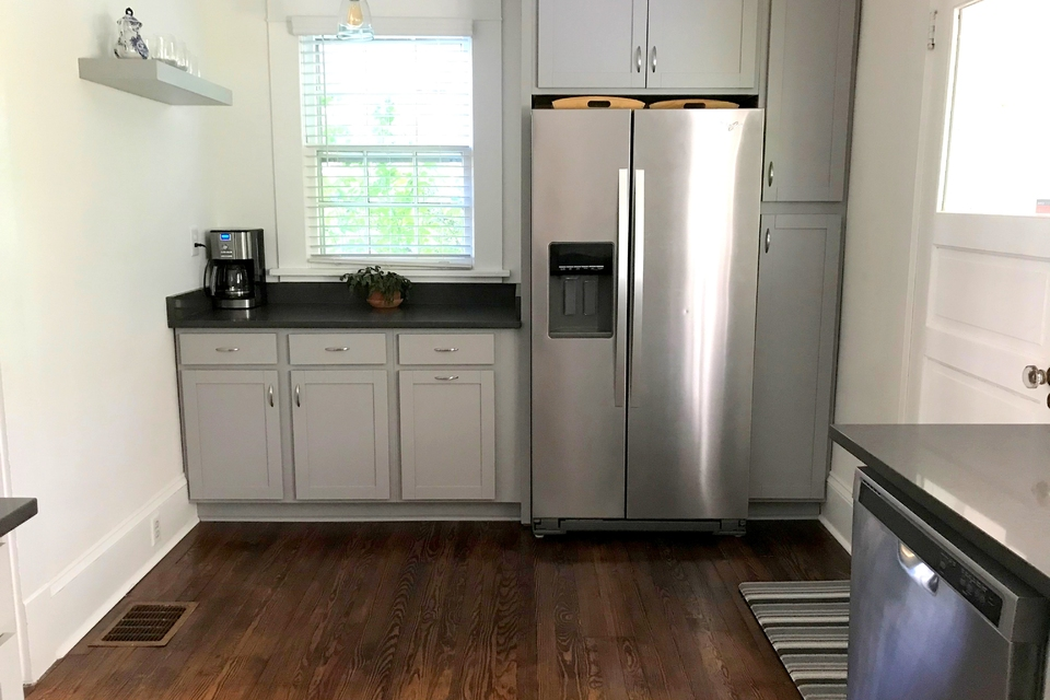 Kitchen - Stainless Steel Refrigerator