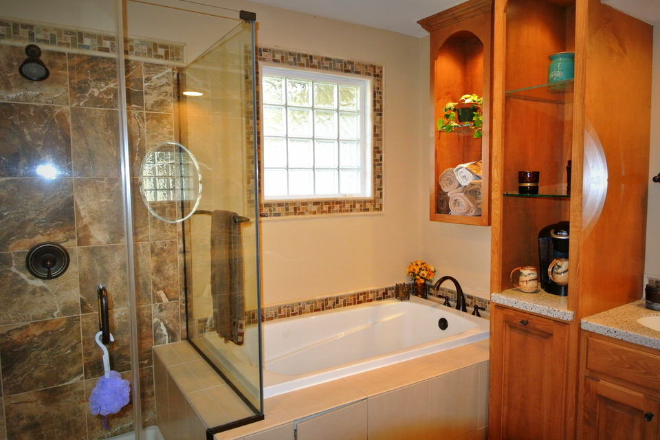 Bathroom - Separate Tub and Shower