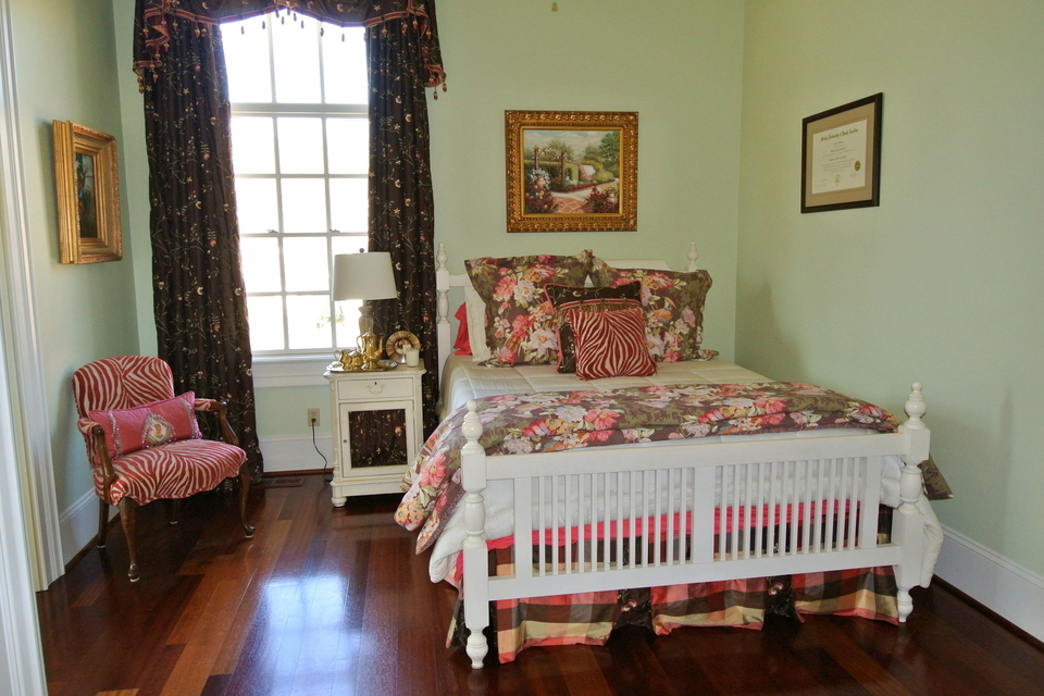 Bedroom - Large Window, Wood Floors
