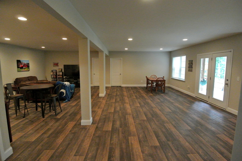 Open Floor Plan - Living Area and Dining Room
