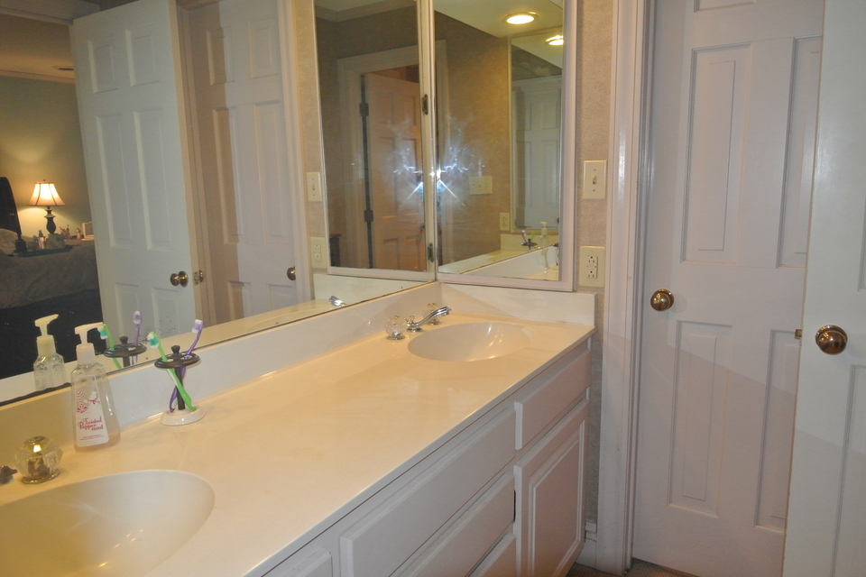 Master Bathroom - Double Vanities