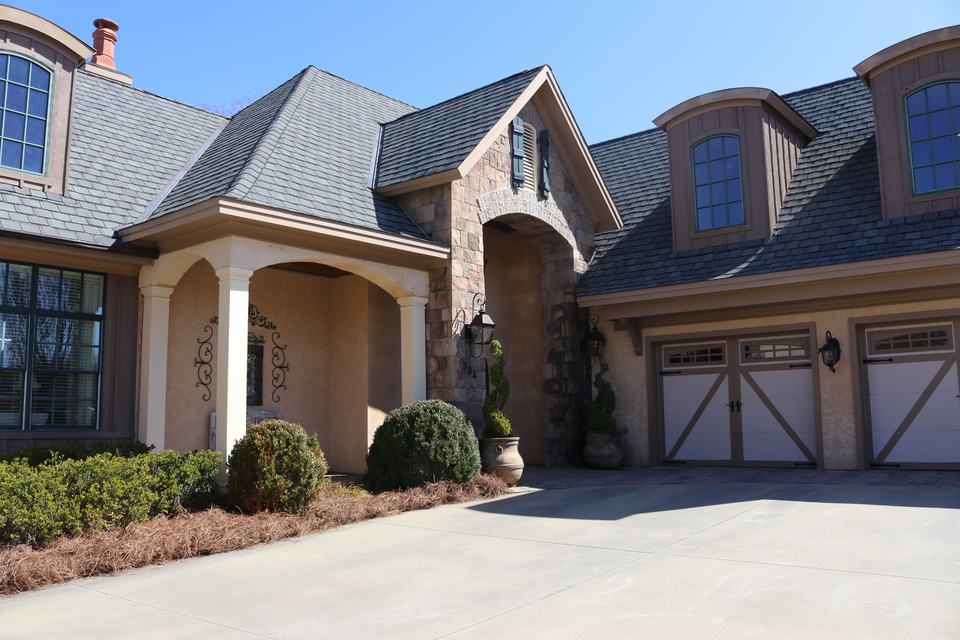 Carolina Country Club | Horseshoe Lake Village | Front Door and Garage