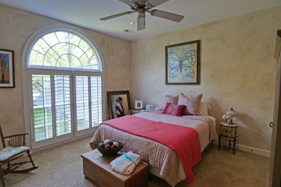 Bedroom - Large Windows, Natural Lighting