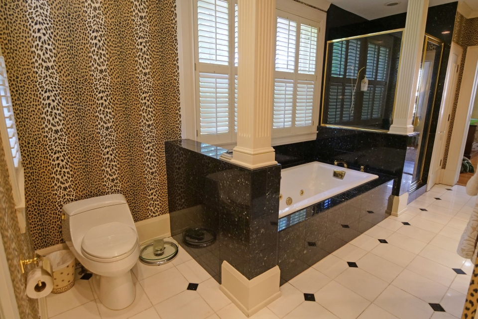Master Bathroom - Double Vanities, Jetted tub, Mirrored Closets