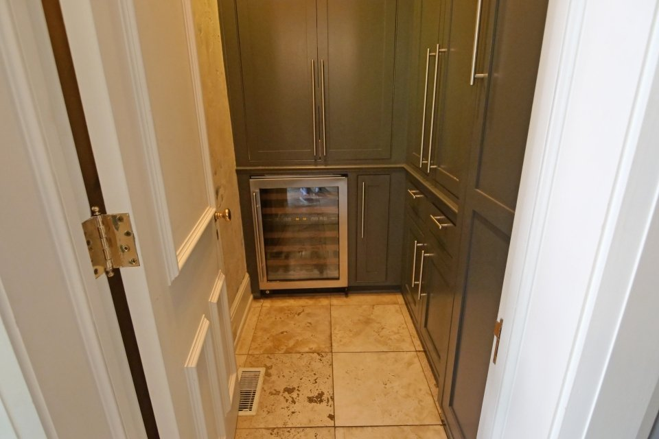 Walk-In Pantry - Wine chiller